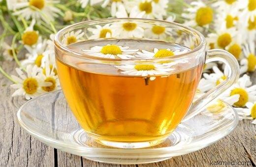 ромашковый чай от бронхита