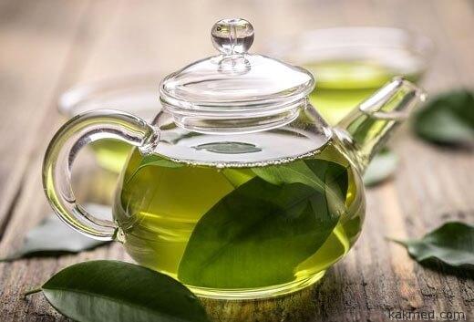 зеленый чай от кашля