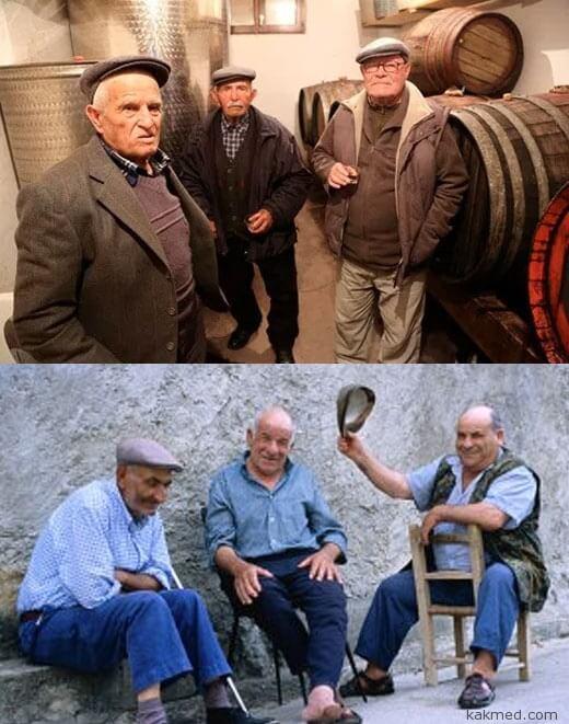 долгожители из Сардинии