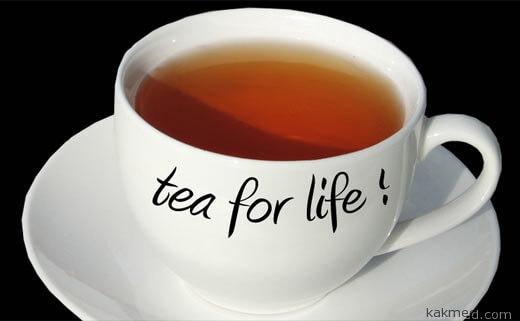 черный чай лекарство от ожогов